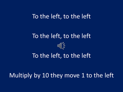 Multiplying and Dividing by powers of 10.