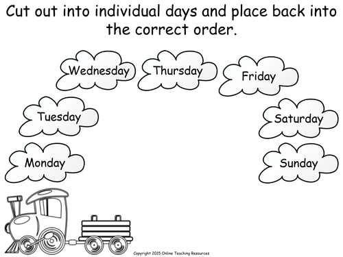 Days Of The Week Animated Powerpoint Presentation And