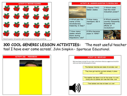300 generic activities create lessons in seconds by whizzbangbang