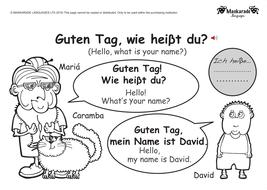 Ks1 german greetings age gender manners by maskaradelanguages ks1 german greetings age gender manners m4hsunfo