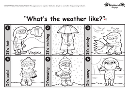 KS1-ENGLISH: Level 1: Clothes-Weather-Holidays by