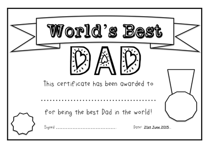 Father's Day Super Bundle! Worksheets & templates plus