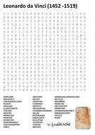 Leonardo da Vinci Word Search