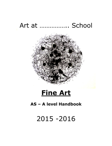 The New AS and A level Art Student Handbook by