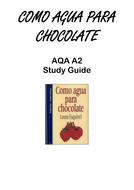 A2 - Como Agua Para Chocolate study booklet