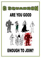 'G Squadron' Grammar Workbook