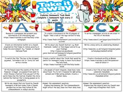 KS3 Religious Studies Literacy Placemats, Homework takeaway sheets ...