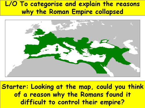 fall of the roman empire by excalibureducation teaching resources tes. Black Bedroom Furniture Sets. Home Design Ideas