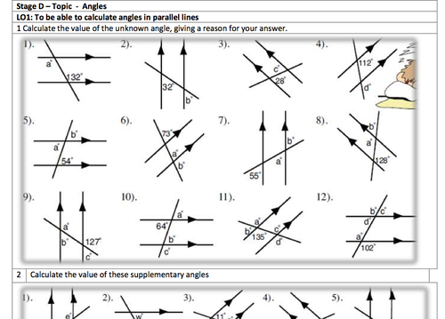 KS3 Maths Mega Homework Pack (Stage 2 of 3) by