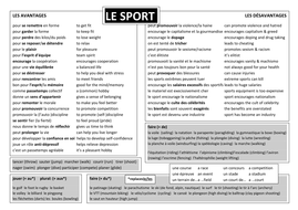 sport and healthy living by anyholland  teaching resources le sport