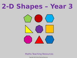 geometry properties of shapes year 3 teaching pack 4 powerpoint
