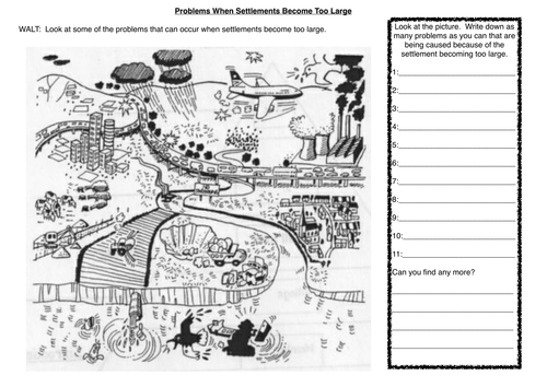 KS3-Geography SEN Resources (6 worksheets) by