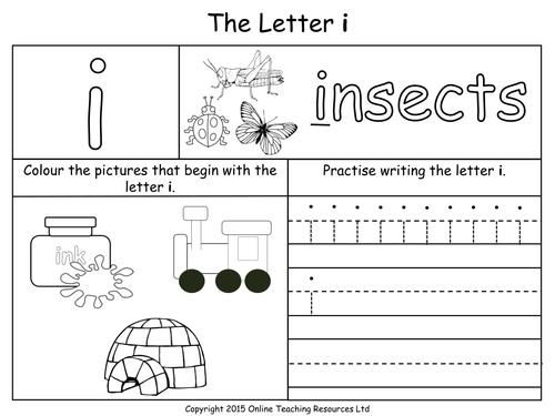 of Letter I Worksheets Sharebrowse – Letter I Worksheets