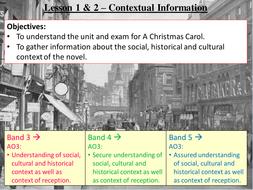 A Christmas Carol - Literature 2B Eduqas GCSE. Full scheme of learning.