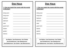 Earned Income Worksheet 2014 Pdf German Ks Worksheets House And Home  Das Haus  Das  Propaganda Techniques Worksheets Pdf with Homophone Printable Worksheets Word  Houseandhomestarterpdf  8th Grade Math Printable Worksheets Word