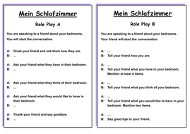 German Ks3 Worksheets House And Home Das Haus Das Schlafzimmer