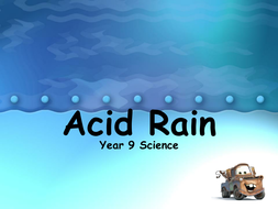 Acid Rain Activity KS3