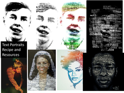 Text-Portraits-Recipe--.pptx