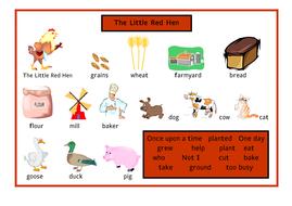 little-red-hen-word-mat.pdf