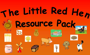 The Little Red Hen Resource Pack