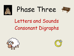 Phase 3: Phonics, Consonant Digraphs/Vowel digraphs/trigraphs  Presentations, Worksheets/Activities