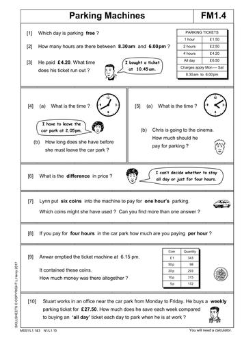 Functional Maths Level 1 Part 2