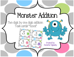 Monster Addition Task Cards