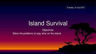 Island-Survival.pptx