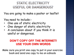 Year 7 Electricity & Magnetism UNIT Resources