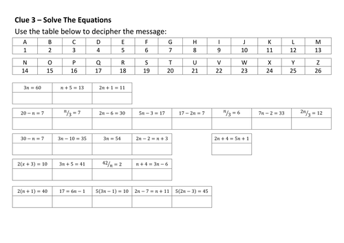 Hd Wallpapers Crack The Code Maths Worksheets Wall038