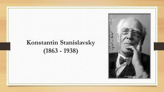 Stanislavski and his method_basics