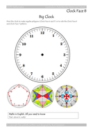 Hundred Per Cent Clock Face