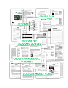 Featured Author Sonja Mix 'The Matrix' COMPLETE UNIT EDITABLE Activities, Tests, Essays, AP Style, Keys