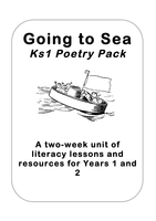 'Going to Sea' Poetry Planning Year 1 and 2 by KS2History