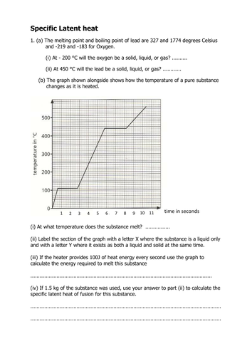 Specific Latent Heat Questions And Answers By Olivia