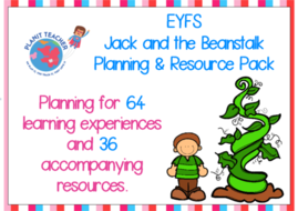 Jack and the Beanstalk Planning and Resource Pack - EYFS/Reception
