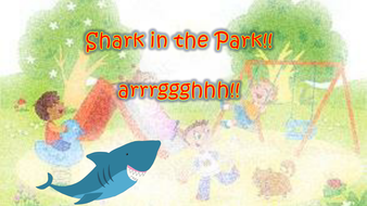 Shark in the Park Phonics - Digraph 'ar'