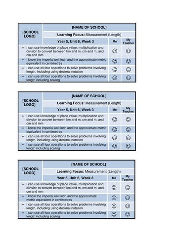 36 Year 5 Weekly Pupil Success Criteria - Maths by eric_t_viking ...