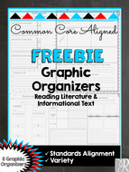 FREEBIE: Common Core Graphic Organizers