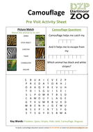 pre visit animal worksheets by dartmoorzoo teaching resources tes. Black Bedroom Furniture Sets. Home Design Ideas