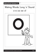Long 'o': o-e, oa, ow, ol