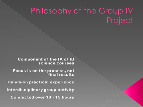 Ib Group Four Project 93