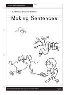 Making Sentences (32 pages)