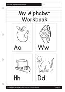 My Alphabet Workbet (268 pages)