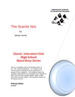 Scarlet Ibis by James Hurst - Literacy Circle Unit