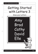 Sounds and Letters go together (55 pages)