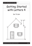 Alphabet dot-to-dot (29 pages)