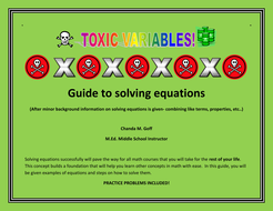 Toxic Variables