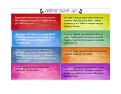 Life Skills Vocabulary: Word Work Resources