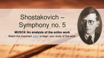 A Complete Analysis of Shostakovich's Symphony No. 5